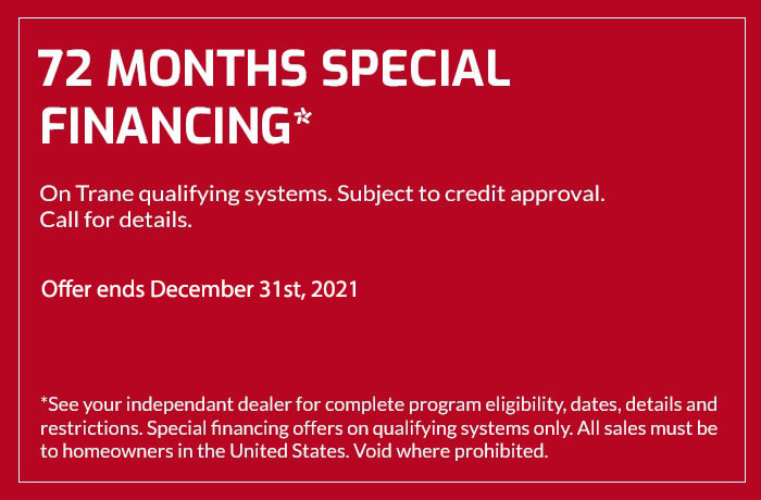 72 Months Special Financing Coupon